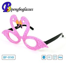 Cute swans shaped girls' party glasses