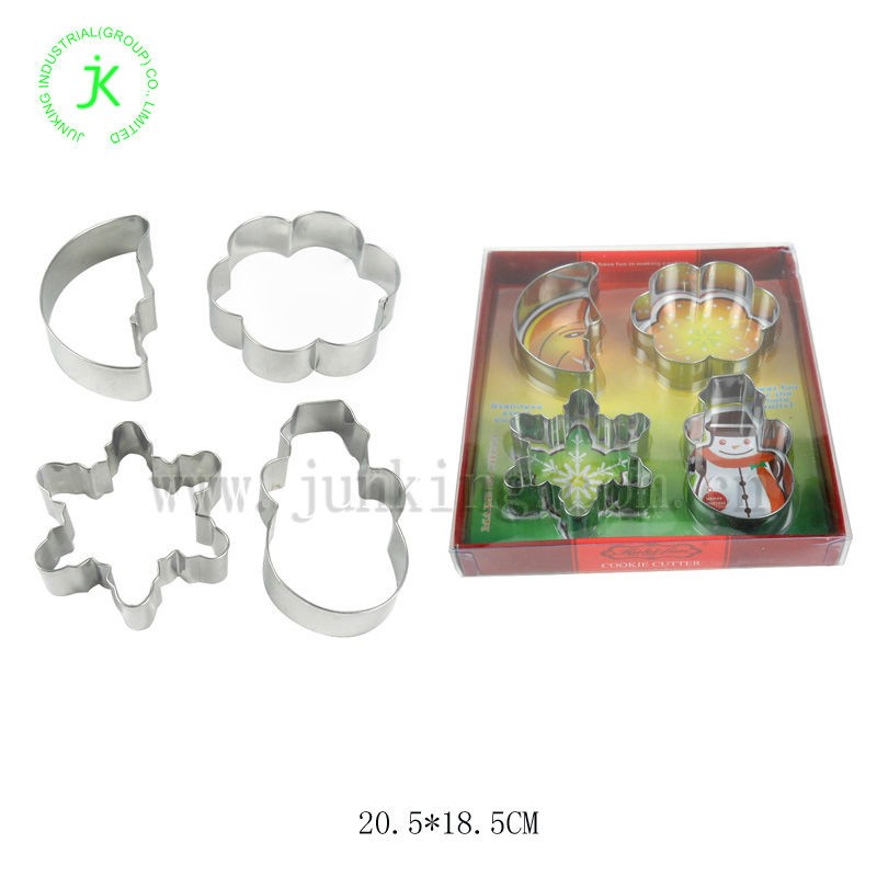 4pcs Chrismas cookie cutter set