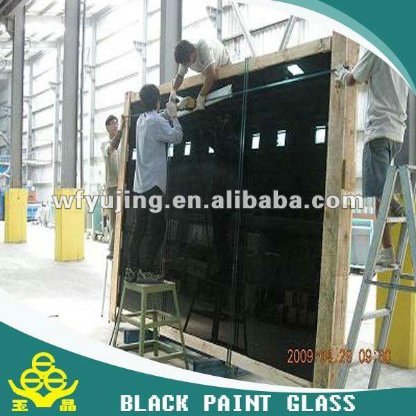 5mm te negro vidrio pintado decovative vidrio pared de for Espejo 5mm precio