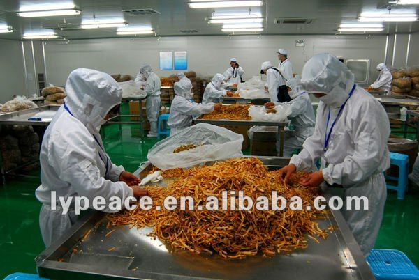 select course for dried potato cubes export