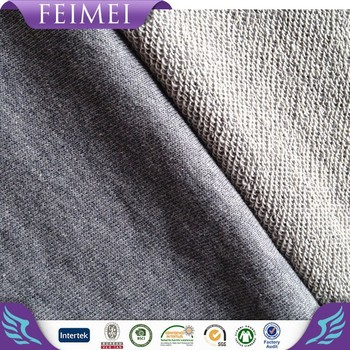 100%cotton french terry knitted fabric for sport's wear