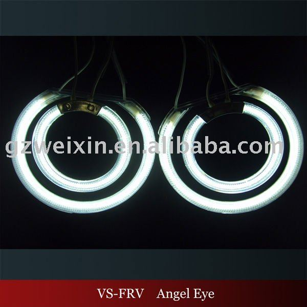 hot sell ccfl angel eyes headlights for brilliance frv
