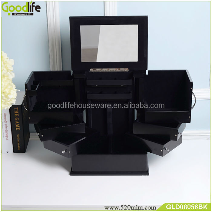 Popular Beauty Organizer makeup case/makeup box/jewelry makeup