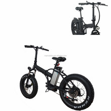 New Arrival Electro Bike 48V 500W ebike With Pedal Fat Tire Electric Bicycle For Sale