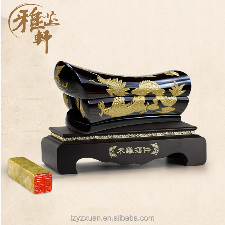 2017 Best Selling Chinese Exclusive Handcrafts Dragon Wood Carving Crafts Type Of Liuzhou Small Coffin