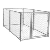 factory custom-made large Hot-selling dog runs Chain Link Dog Kennel Lowes