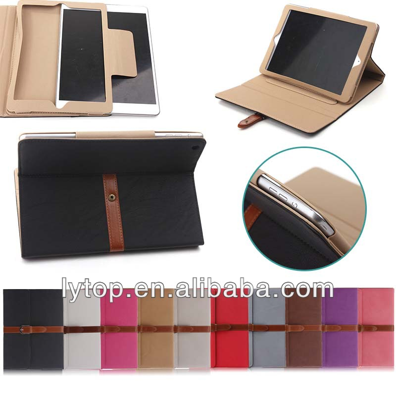 Bumper Shockproof Belt Clip Holster Leather Case for iPad Air 5