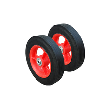Wear-resistant durable 7 inch solid wheel for wheelchairs