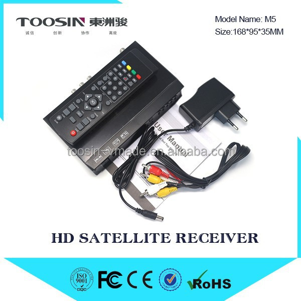 Digital hdtv dvb s2 free to air satellite decoders with IKS IPTV Youtube