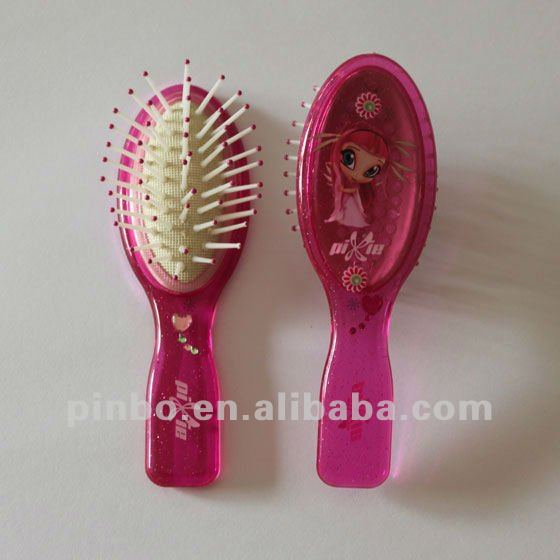 mini baby hair brush