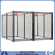 Chain Link or galvanized comfortable breeding cage dog