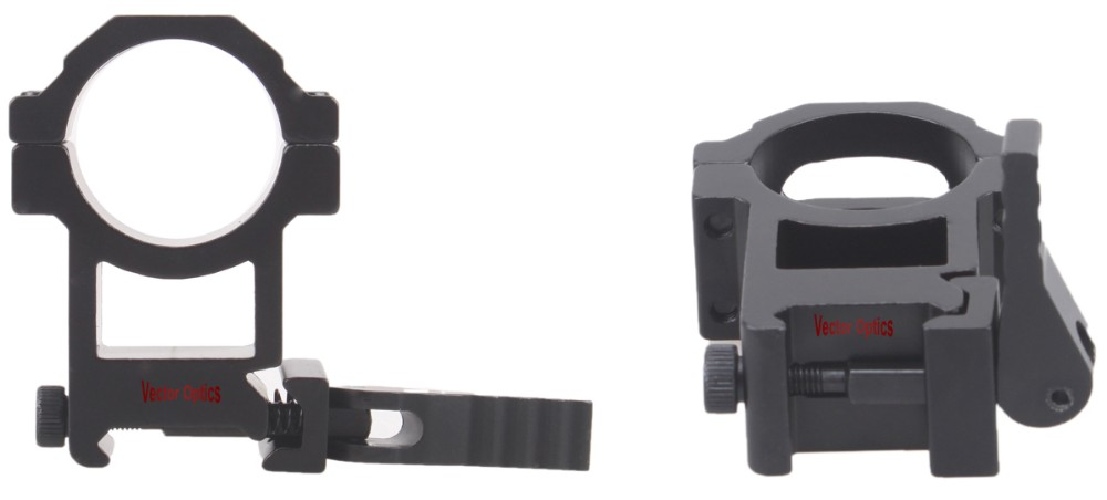 Vector Optics Tactical 30mm Quick Release Scope High Picatinny QD Mount Ring Bracket fit for BSA Leapers Riflescopes