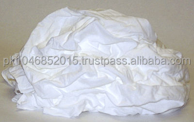 Cotton Waist or Cotton Rags White /100% cotton waist