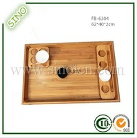 Delicate Bamboo Tea Cup Tray Cup Coaster