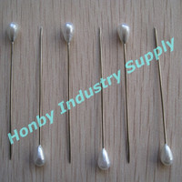 In stock Fast Deliver Teardrop Head Pearlized Floral Pins