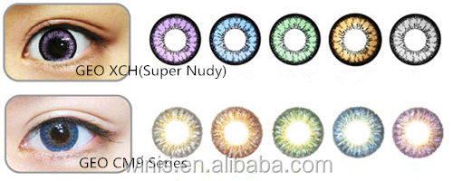 iris colored contact lens geo soft color contact lens