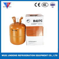 HVAC system refrigerant gas R407C, mixed refrigerant for air conditioning New environmental protection refrigerant