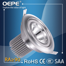 Factory price high qualitty 25w led cob downlight with no flicker driver