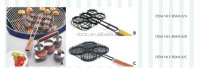 BBQ GRILL MINI BURGER BASKET BBQ GRILL TOOLS