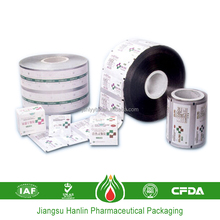 8011 composited film roll packaging aluminum foil laminated paper