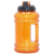 orange color flip lid 2.2L petg water bottle with side handle