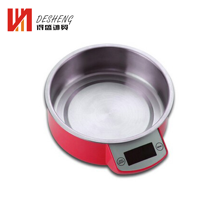 OEM 5 kg digital kitchen food skala