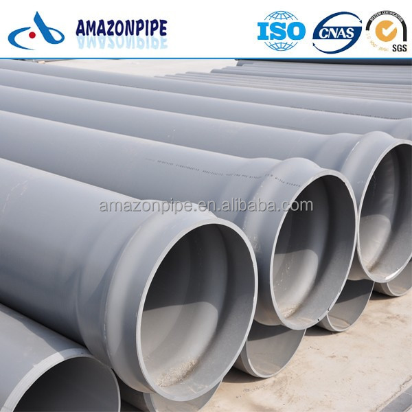 ISO4422 GB/T10002 pvc pipe plastic drinking water tube