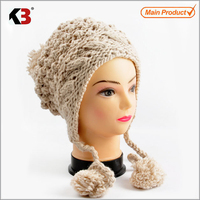 2016 Manufacture of high quality high quality stripes knitted hat