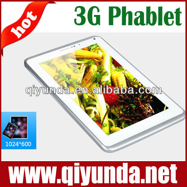 7 inch best android tablets 2013 mtk 6577 1.2ghz dual core with 2g 3g phone call full function