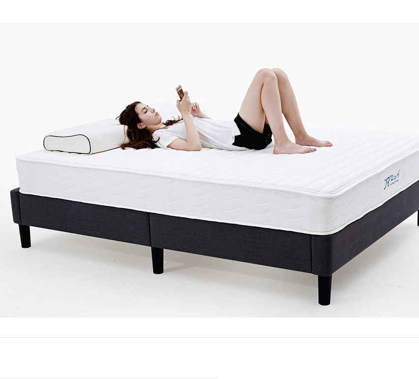 8 inch Natural Latex Hybrid California King Mattress - Premium Support Pocket Coil Innerspring - Firm & Sleep Cooling - Non Toxi - Jozy Mattress | Jozy.net