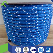 low price double braided polyester rope for yacht halyard