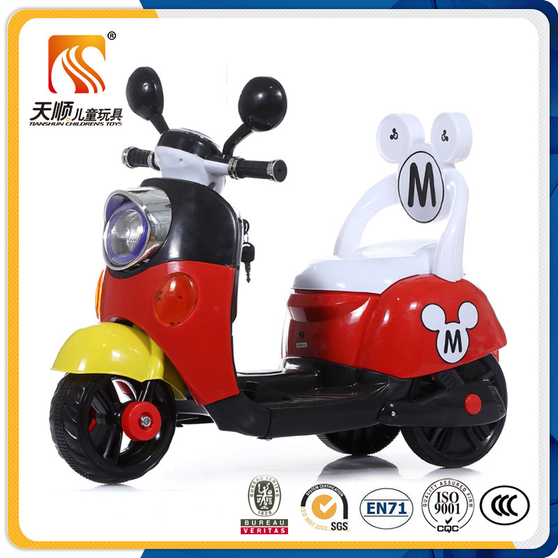 Factory wholesale Kids Baby Ride On Toys Car, kids ride on plastic motorcycle