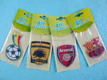 club of Football car paper air freshener
