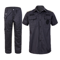 best Mesh short sleeve guard security uniform,security shirt uniform for man