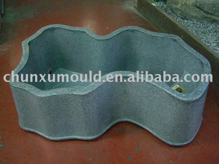Arabic for Moulded fish ponds