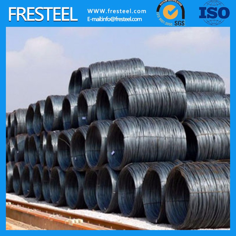 China hot rolled ms prime alloy steel sae1006b low carbon steel wire rod