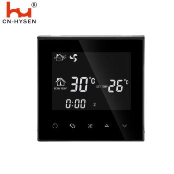 HY03AC Electric LCD OEM HVAC Safety Digital Room Thermostat air conditioning system electric thermostat