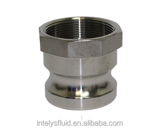 Stainless Steel SS 316 304 Camlock Fitting/Coupling Type A Stainless Steel Cam and Groove Male Adapter