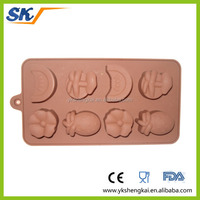 funny shape silicone chocolate mold ice cube tray with BPA free