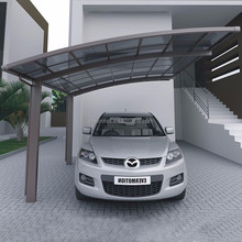 China manufacturer used carports for sale Modern design aluminum frame outdoor gazebo double carport /carport canopy