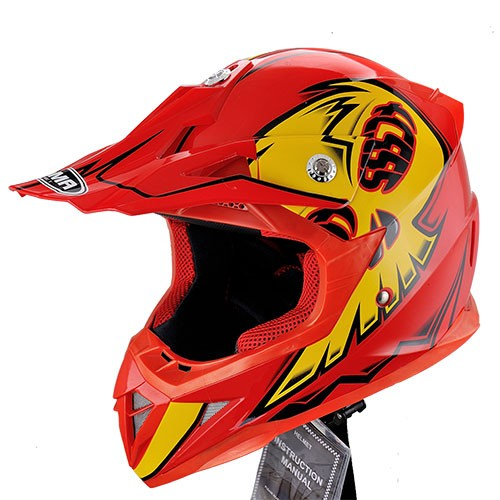 Motorcycle helmet Dot approved ATV dirt bike motocross kids helmet motorcycle
