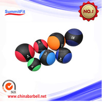 Fitness rubber various colors Two Color Bouncing Medicine Ball for therapy