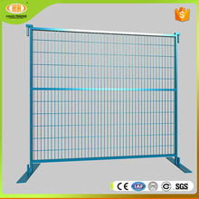 Australia and Canada galvanized polyester powder coated durable /removable boundary color chain link temporary fence