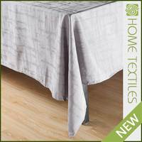 2016 Hot sale Factory price Comfortable Plain luxe hotel table cloth
