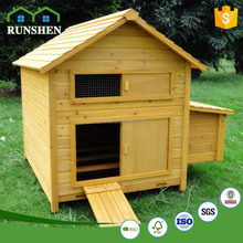 Movable Wooden Pet House Layer Egg Chicken Cage Poultry Farm House Design