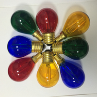 Edison globe glass LED Edison Globes 2W Equal to 25w 220v 110v Bulb