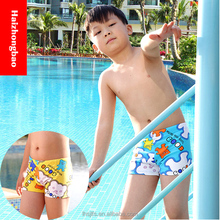 Kids cartoon boy bathing suit/little bear swim trunk/baby cute swim short 7902