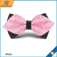 New Collection Quality-assured Customized handmade butterfly bow tie