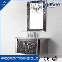 High Quality Modern Stainless Steel Bathroom Cabinet Livingroom Wall Cabinets Furniture