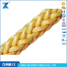 CHNMIX high strength polypropylene and polyester compound ropes marine rope